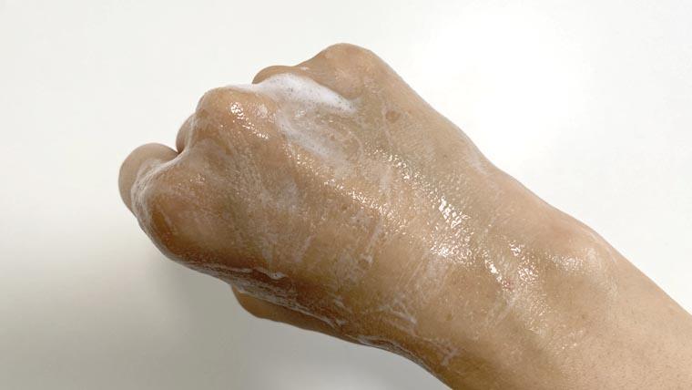 肌ナチュールホワイトクレンジング使用感2